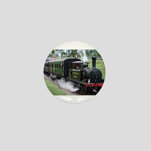 Steam Train Mini Button
