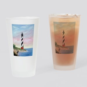 Hatteras Sunrise Drinking Glass