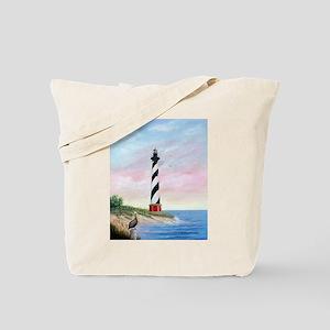 Hatteras Sunrise Tote Bag
