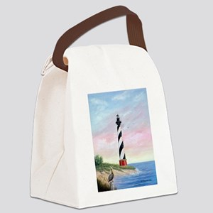 Hatteras Sunrise Canvas Lunch Bag