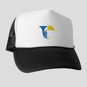 HIMYM French Umbrella Trucker Hat