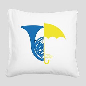 HIMYM French Umbrella Square Canvas Pillow