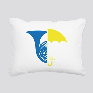 HIMYM French Umbrella Rectangular Canvas Pillow
