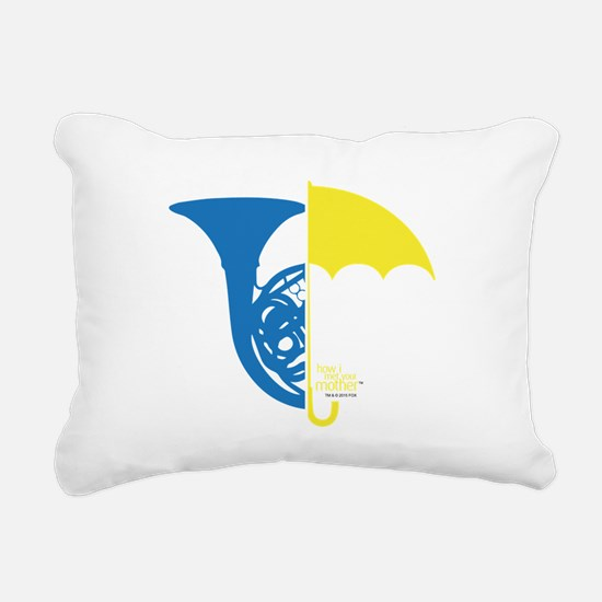 HIMYM French Umbrella Rectangular Canvas Pillow