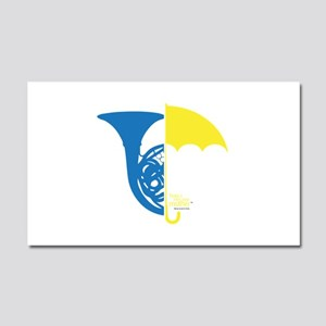 HIMYM French Umbrella Car Magnet 20 x 12