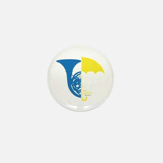 HIMYM French Umbrella Mini Button
