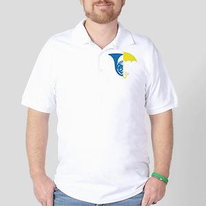 HIMYM French Umbrella Golf Shirt