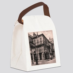 French Quarter Absinthe House Canvas Lunch Bag