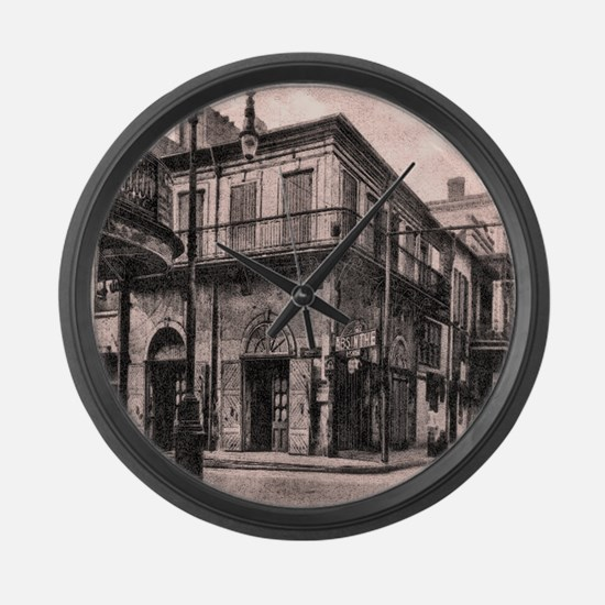 French Quarter Absinthe House Large Wall Clock