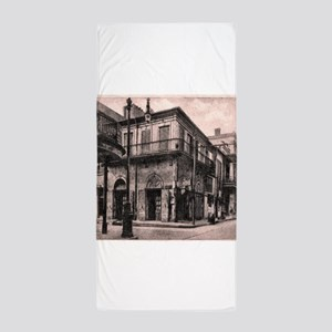 French Quarter Absinthe House Beach Towel