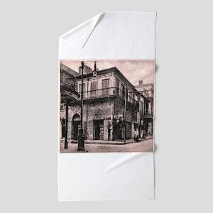 French Quarter Absinthe House Beach Towel