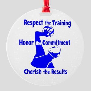 CHERISH WP Round Ornament