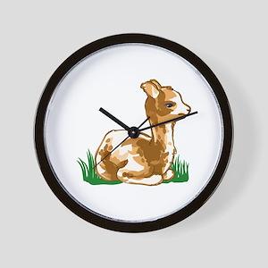 BABY ALPACA Wall Clock
