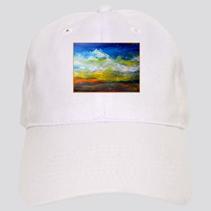 Landscape, colorful art Baseball Cap