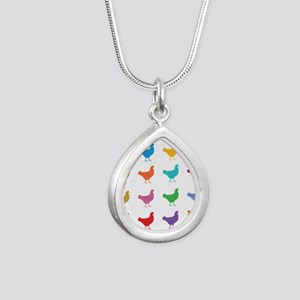 Colorful Chickens Necklaces
