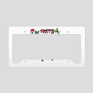 Merry Chrismahannukwanzakah License Plate Holder