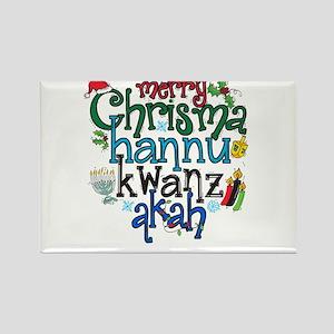 Merry Chrismahannukwanzakah Magnets