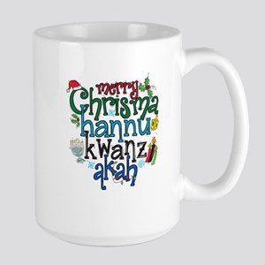 Merry Chrismahannukwanzakah Mugs