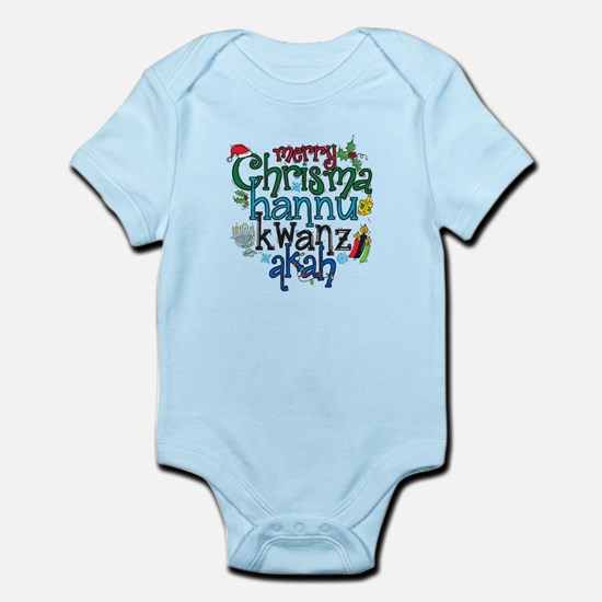 Merry Chrismahannukwanzakah Body Suit
