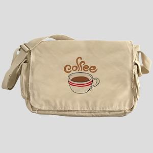 HOT COFFEE Messenger Bag