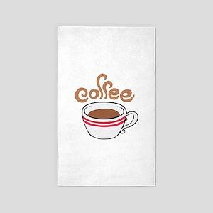 HOT COFFEE Area Rug