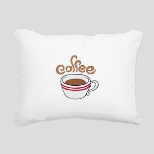 HOT COFFEE Rectangular Canvas Pillow