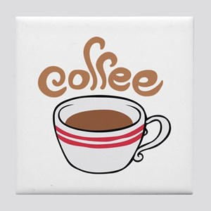 HOT COFFEE Tile Coaster