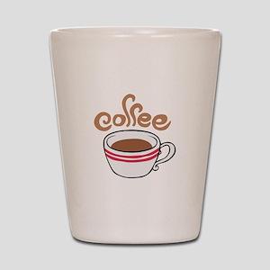 HOT COFFEE Shot Glass