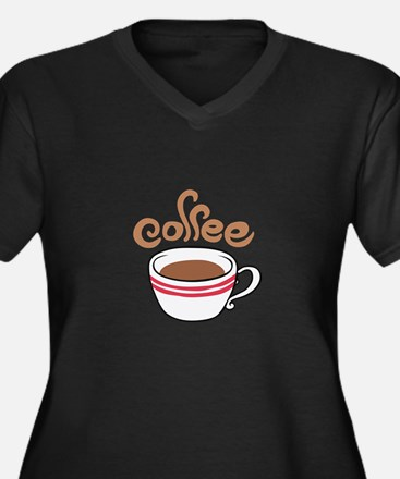 HOT COFFEE Plus Size T-Shirt