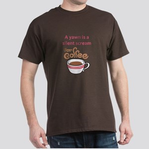SILENT SCREAM FOR COFFEE T-Shirt