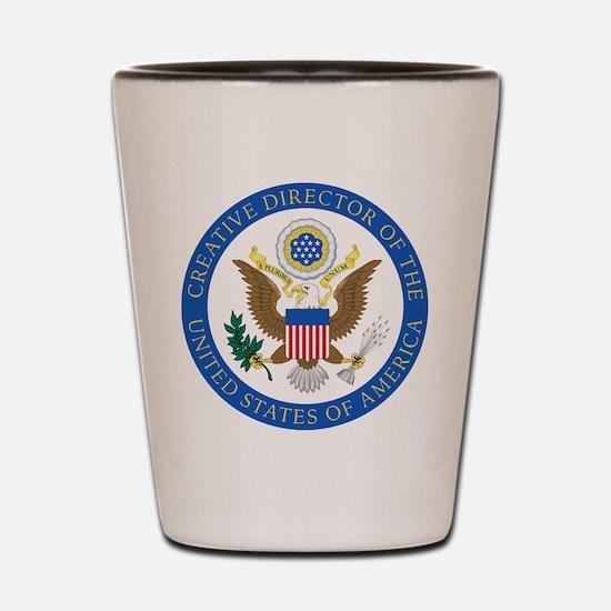 CD of the USA2 Shot Glass