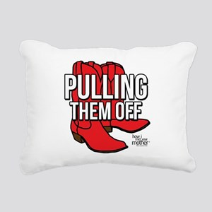 HIMYM Red Boots Rectangular Canvas Pillow