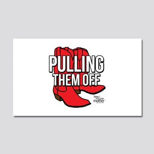 HIMYM Red Boots Car Magnet 20 x 12