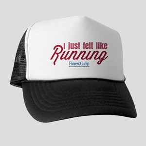 0a08d74525e I Just Felt Like Running Trucker Hat