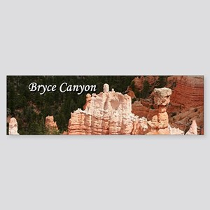 Bryce Canyon, Utah 3 (caption) Bumper Sticker