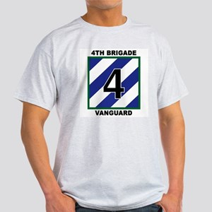 3ID - 4th Brigade Ash Grey T-Shirt