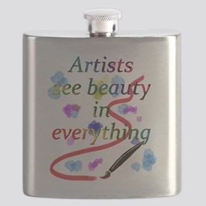 Artists See Beauty Flask