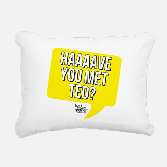 HIMYM Have You Met Ted Rectangular Canvas Pillow