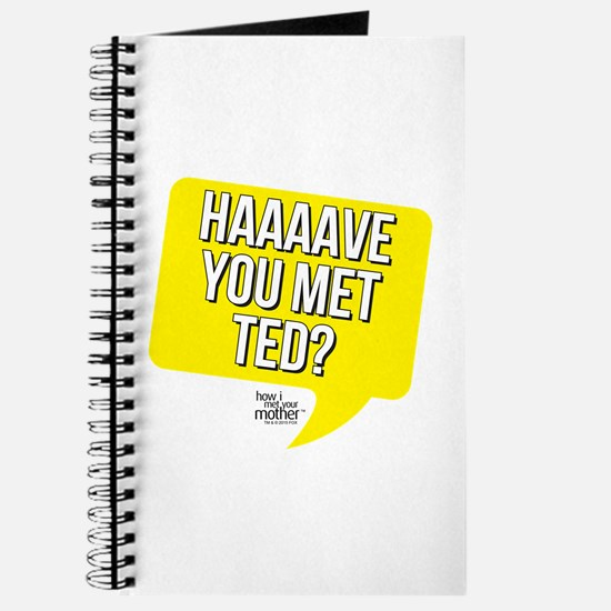 HIMYM Have You Met Ted Journal
