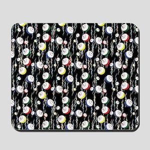 Festive Bingo Balls Mousepad