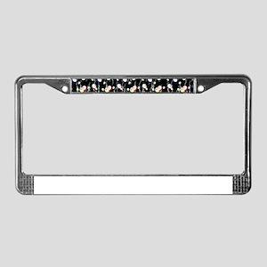 Bingo Balls Sparkle License Plate Frame
