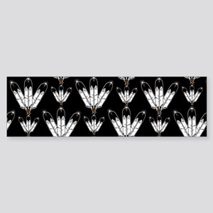 Eagle Feathers Sticker (Bumper)