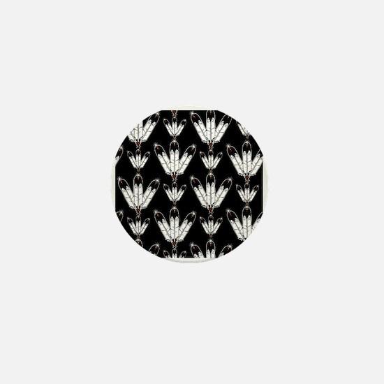 Eagle Feathers Mini Button