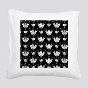 Eagle Feathers Square Canvas Pillow