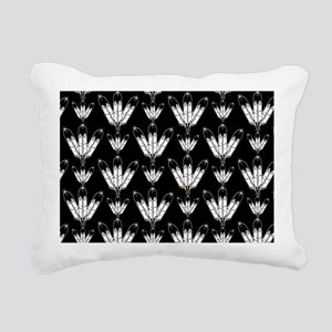 Eagle Feathers Rectangular Canvas Pillow