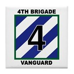 3ID - 4th Brigade Tile Coaster
