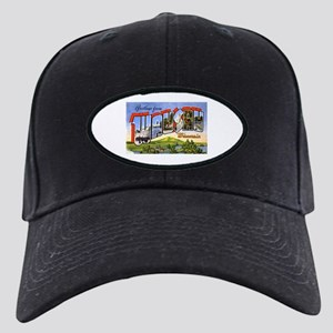 Wausau Wisconsin Greetings Black Cap
