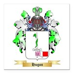 Hugon Square Car Magnet 3