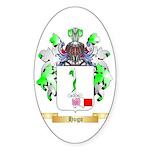 Hugo Sticker (Oval 50 pk)