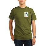 Huglin Organic Men's T-Shirt (dark)